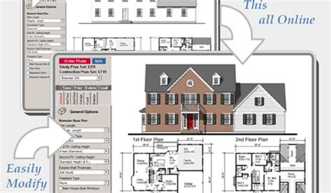 build your online design your own house plans online original home plans