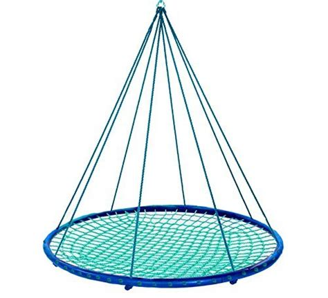 round platform swing sky island giant outdoor hanging round platform swing for