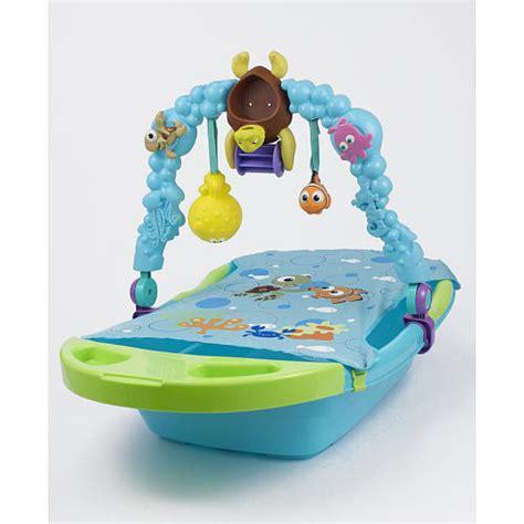 nemo baby bathtub my family fun sassy finding nemo fun tub toy bar folds