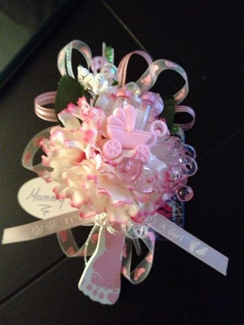 Corsage For Baby Shower by Baby Shower Corsages Dozen
