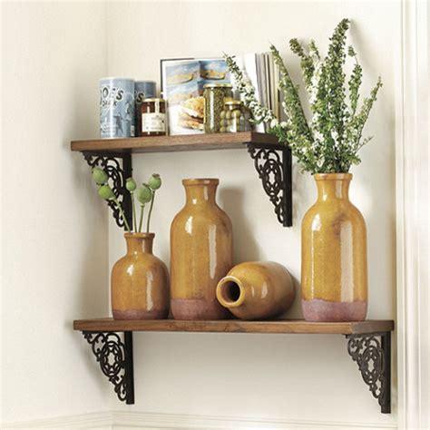Decorative Shelf Brackets Kitchen Traditional With Glass » Home Design 2017