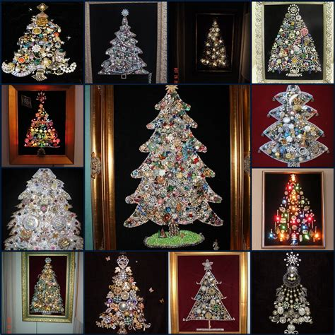things i love thursday christmas trees made from vintage