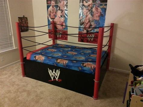 wwe bedroom decor full size wwe bed i make these home sweet home pinterest wwe