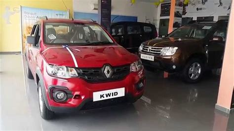 renault kwid red renault kwid walkaround red colour best hatchbac youtube