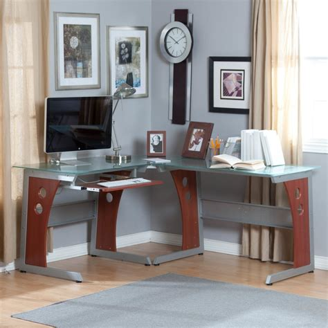 style desk l modern grey l shaped desk grey l shaped desk style all