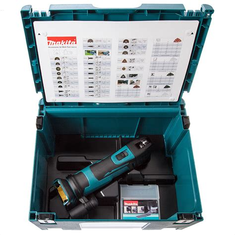 Multi Cutter Makita makita dtm51zjx7 multi tool cordless 18v with accessories