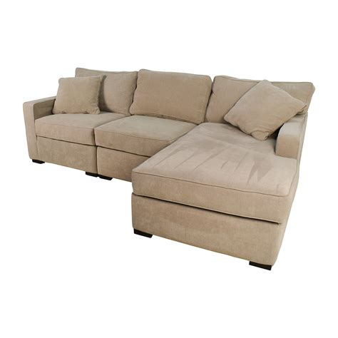 macys radley sectional 37 off macy s radley 3 piece fabric chaise sectional