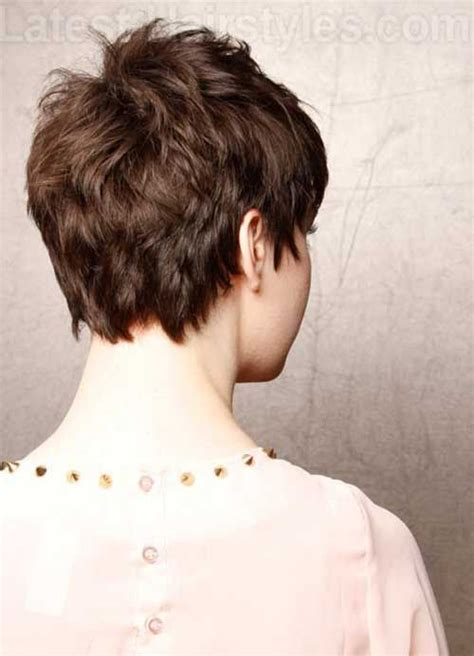 front and back views of chopped hair 20 best ideas about choppy pixie cut on pinterest short