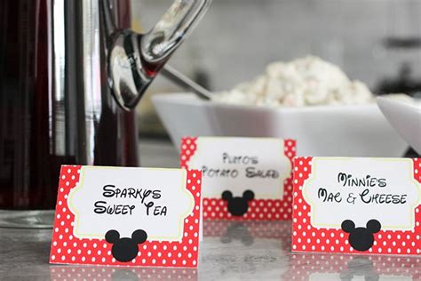 mickey mouse place card template best 25 printable place cards ideas on free