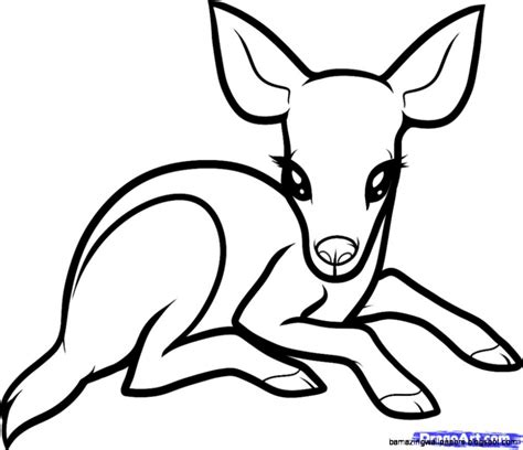 Easy Drawings Of Animals Coloring Pages Wonderful Easy To Draw Animals Drawing Animal For Easy Animal Coloring Pages