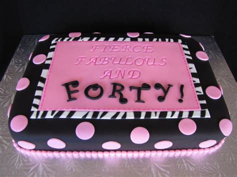 Fierce Fabulous And Forty Decorations by Birthday Cakes Images Adorable Design 40 Birthday Cakes