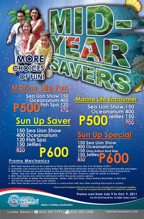 manila ocean park entrance fee reservation promos manila ocean park mid year savers promo