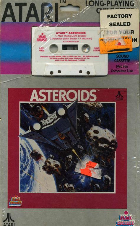 asteroids the atari 2600 journal books list of atari 2600 vcs records