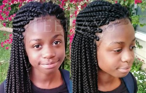 how to keep crochet box braids from coming out undetectable crochet box braids teeday6 hair stuff
