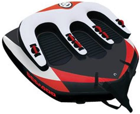sea doo boat tubes towables sea doo r3 towable ski tube 3 person