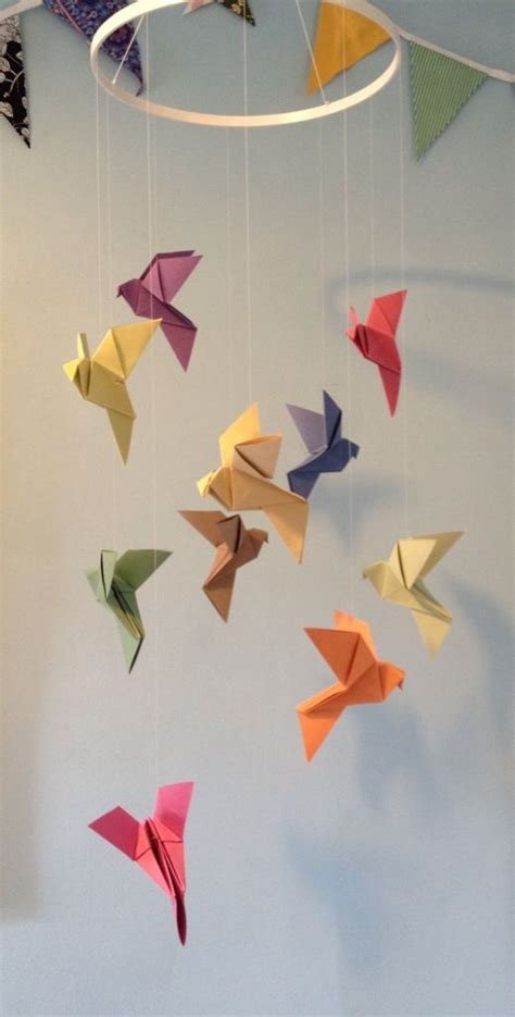 Origami Mobile - best 25 origami mobile ideas on diy butterfly