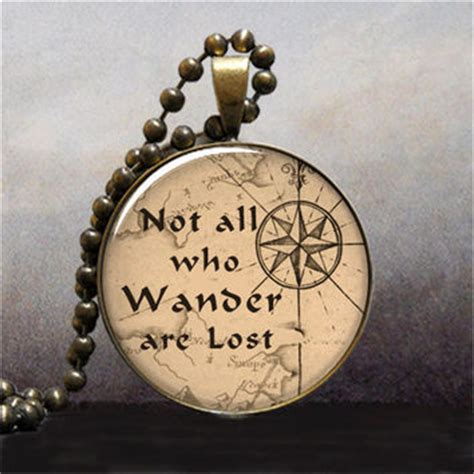 Lolitattoo Temporary Wander Lost best not all who wander are lost jewelry products on wanelo