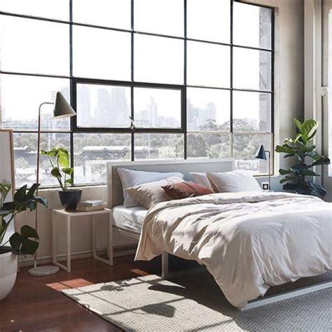 pretty bedroom design  lots  natural light