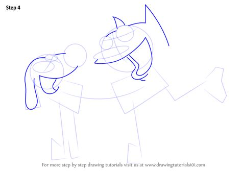 How To Draw Catdog Step By Step learn how to draw catdog catdog step by step drawing