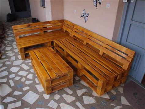 pallet l shaped couch some wonderful pallet l shape sofa set pallets designs