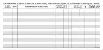 checking account balance sheet template recycled personal bank checks environmentally friendly