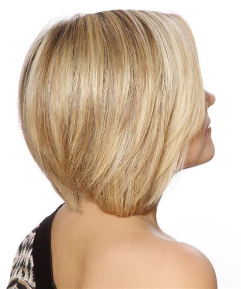 side views short bobs short straight formal bob hairstyle light blonde