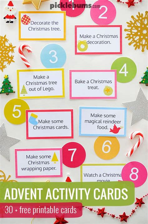 make your own advent calendar template activities and countdown to on