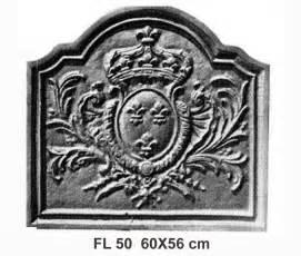 Plaque De Cheminee by Plaque De Chemin 233 E En Fonte Fonderie Loiselet