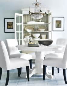 White Dining Room by A Room With Two Hues Sophisticated