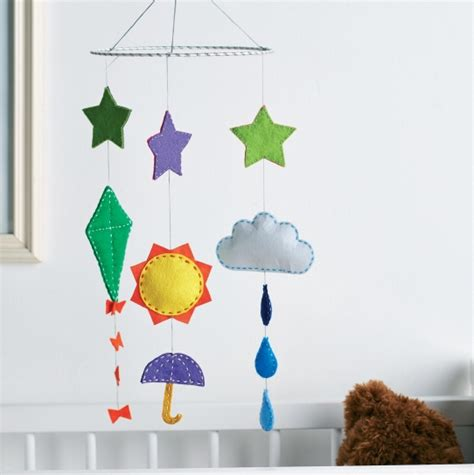 weather mobile nursery weather mobile free sewing patterns sew magazine