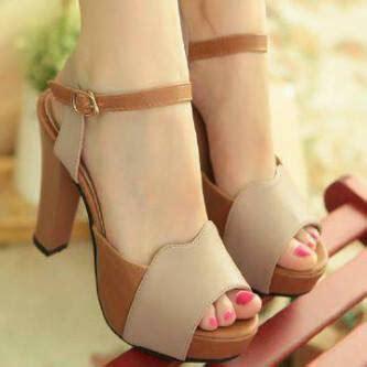 High Heels Wanita Terbaru Termurah Sepatu Wanita Ds56 ryn fashion belanja puas harga pas