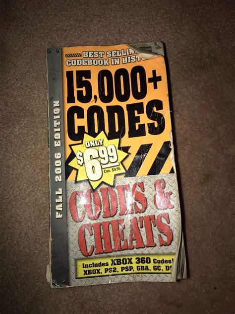 cheat code book nostalgia