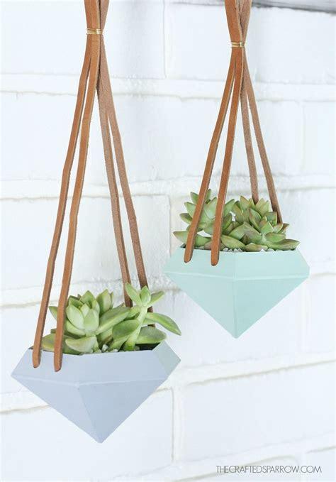 hanging plant diy 29 diy succulent planter ideas creative ways to display