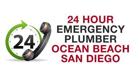 24 hour emergency plumber san diego california