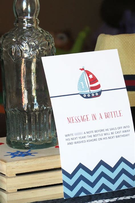 sailboat in a bottle sailboat notes message in a bottle idea for nautical