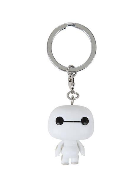 Baymax Keychain funko big 6 nursebot baymax pop key chain topic