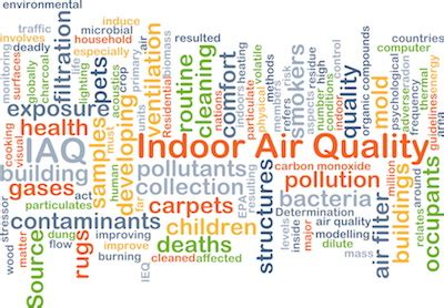 indoor air comfort indoor air quality problems caused by malfunctioning