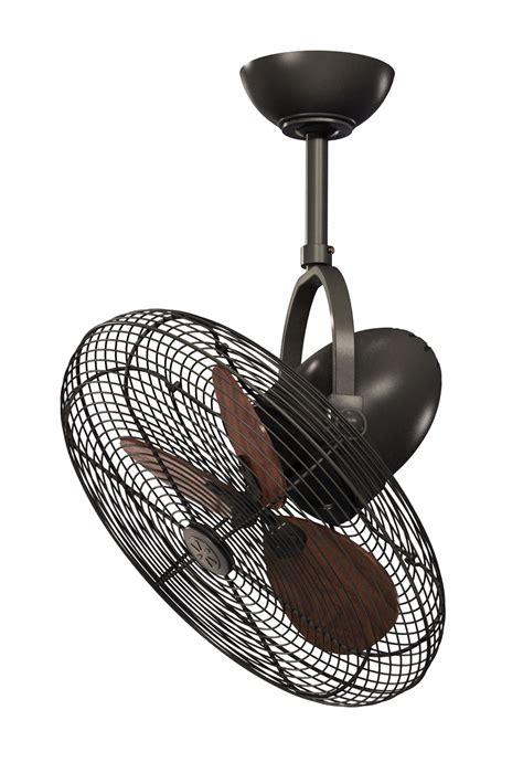 cage bronze indoor outdoor ceiling fan