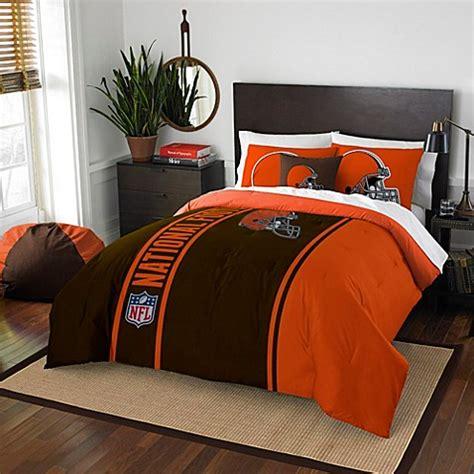 cleveland browns comforter nfl cleveland browns bedding bed bath beyond