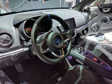 2017 alpine a110 interior geneve 2017 enfin l alpine miss 280ch