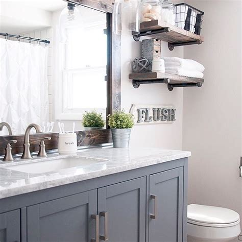 Modern Farmhouse Bathroom Ideas 25 Best Ideas About Modern Farmhouse Bathroom On