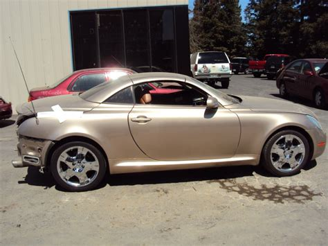 lexus coupe 2005 2005 lexus sc 430 model coupe 4 3l v6 at color gold z13495