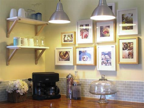 decoration ideas for kitchen walls 25 ways to dress up blank walls hgtv