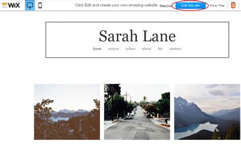 Let S Create A Photo Portfolio With Wix Web Design Principles Wix Portfolio Templates