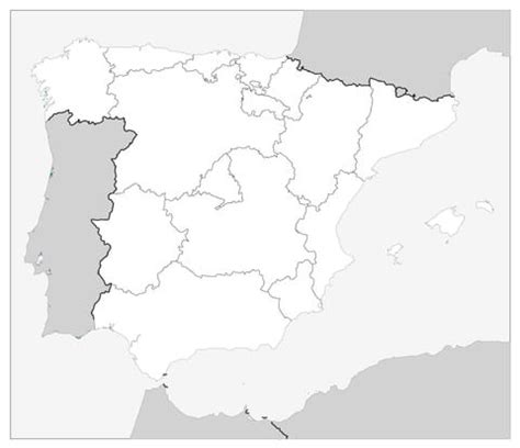 coloring page map of spain map of spain coloring page supercoloring com