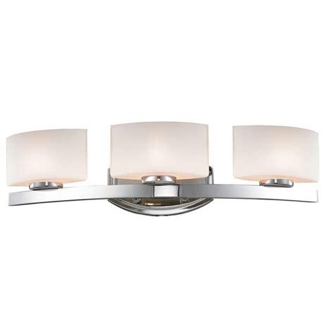Halogen Bathroom Lights Filament Design Iulia 3 Light Brushed Nickel Halogen Bath Vanity Light Cli Jb3013 3v The Home