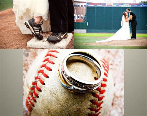 baseball themed pictures gorgeous wedding photos from this baseball themed wedding