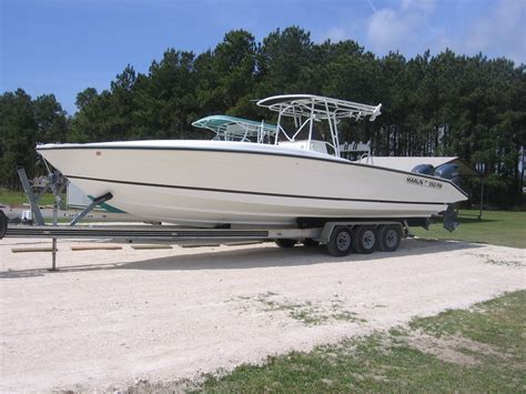 forum console 35 marlin center console the hull boating and