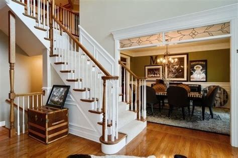 Updating Existing Kitchen Cabinets is there a trend to paint interior stained wood trim white