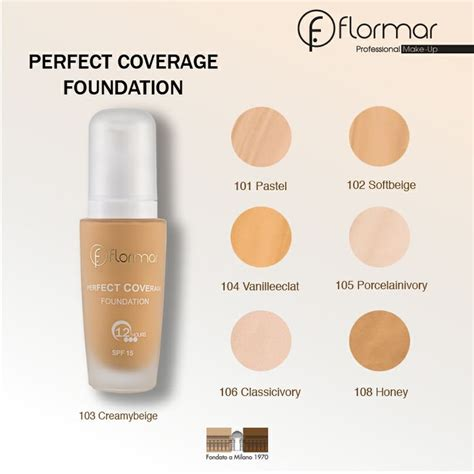 Foundation Flormar Coverage Foundation Www Flormar Makeup Ideas